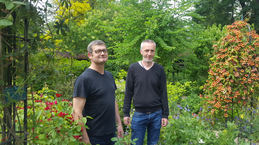 Laurent et Pascal de la Maison Paris Nature