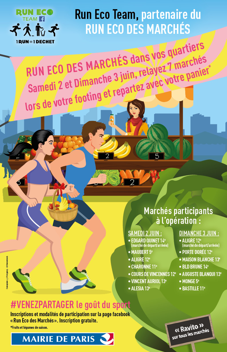 Affiche run eco team
