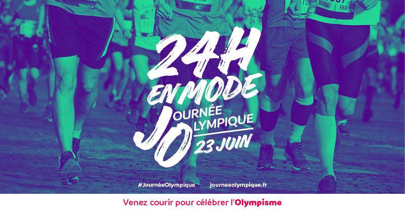 24h en Mode Journée Olympique 23 juin 2018