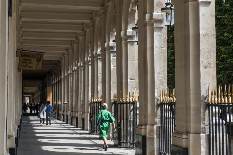 Paris, Palais royal, la galerie Valois