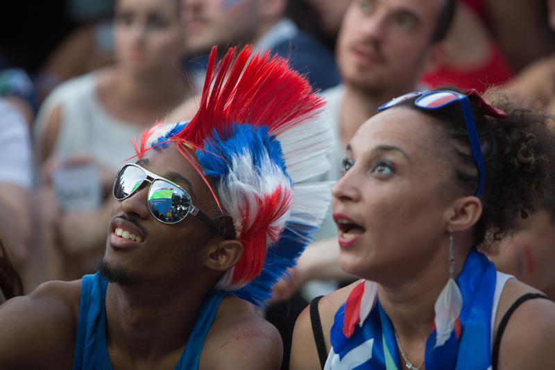 supporter foot/euro 2016