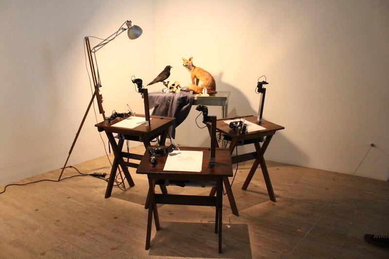 PATRICK TRESSET - Human Study #2.d La Grande Vanité au corbeau et au renard