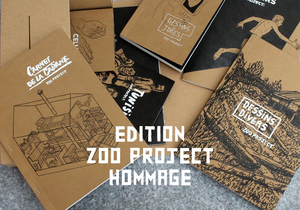 Hommage à Zoo Project : atelier maquette |