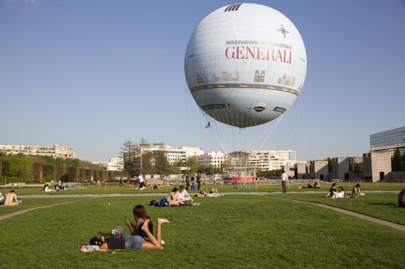 ballon de paris generali parc andré citroen