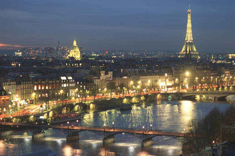 Pont des Arts et Tour Eiffel