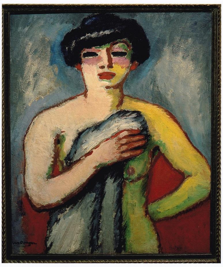 Kees van Dongen, Fernande Olivier, 1907 huile sur toile, 100 x 81 cm, collection particulière