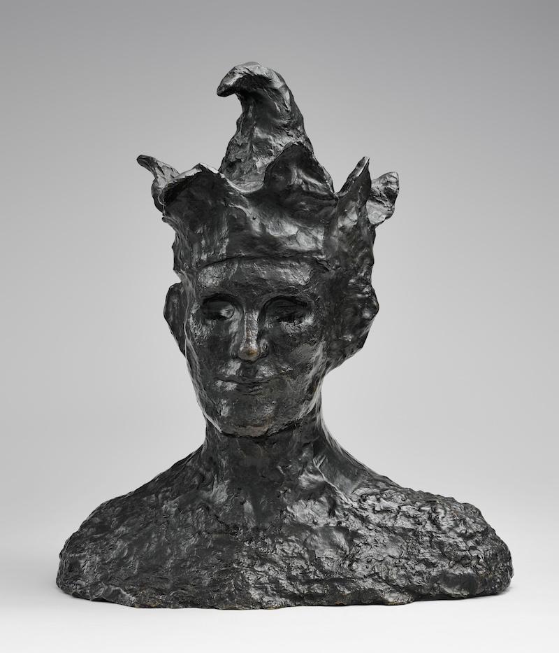 Le Fou, 1905 Bronze, 41,5 x 37 x 22,8 cm Paris, Musée national Picasso-Paris, inv. MP231