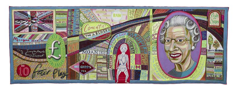 Grayson Perry Comfort Blanket, 2014 Tapestry