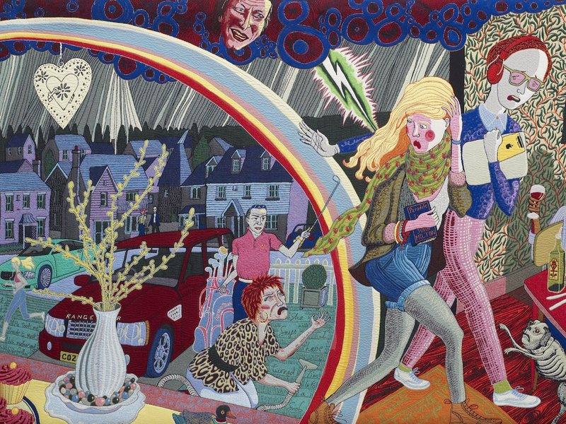 Grayson Perry Expulsion from Number 8 Eden Close, 2012 (detail)