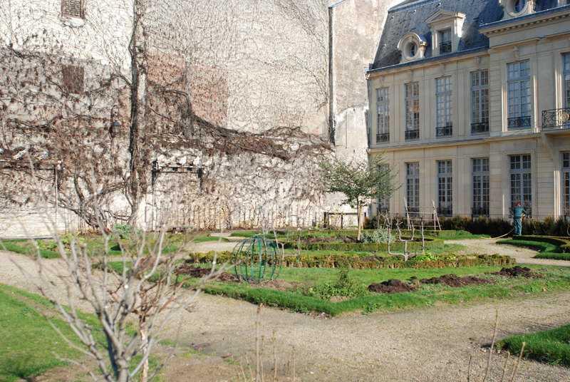 Jardin des Arts (4e)