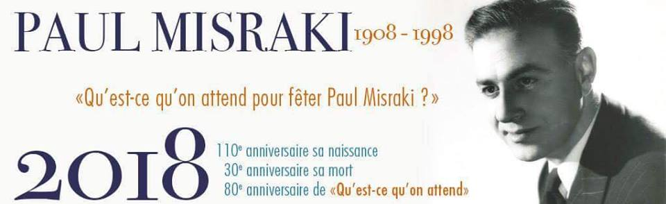 Conférence sur Paul Misraki |