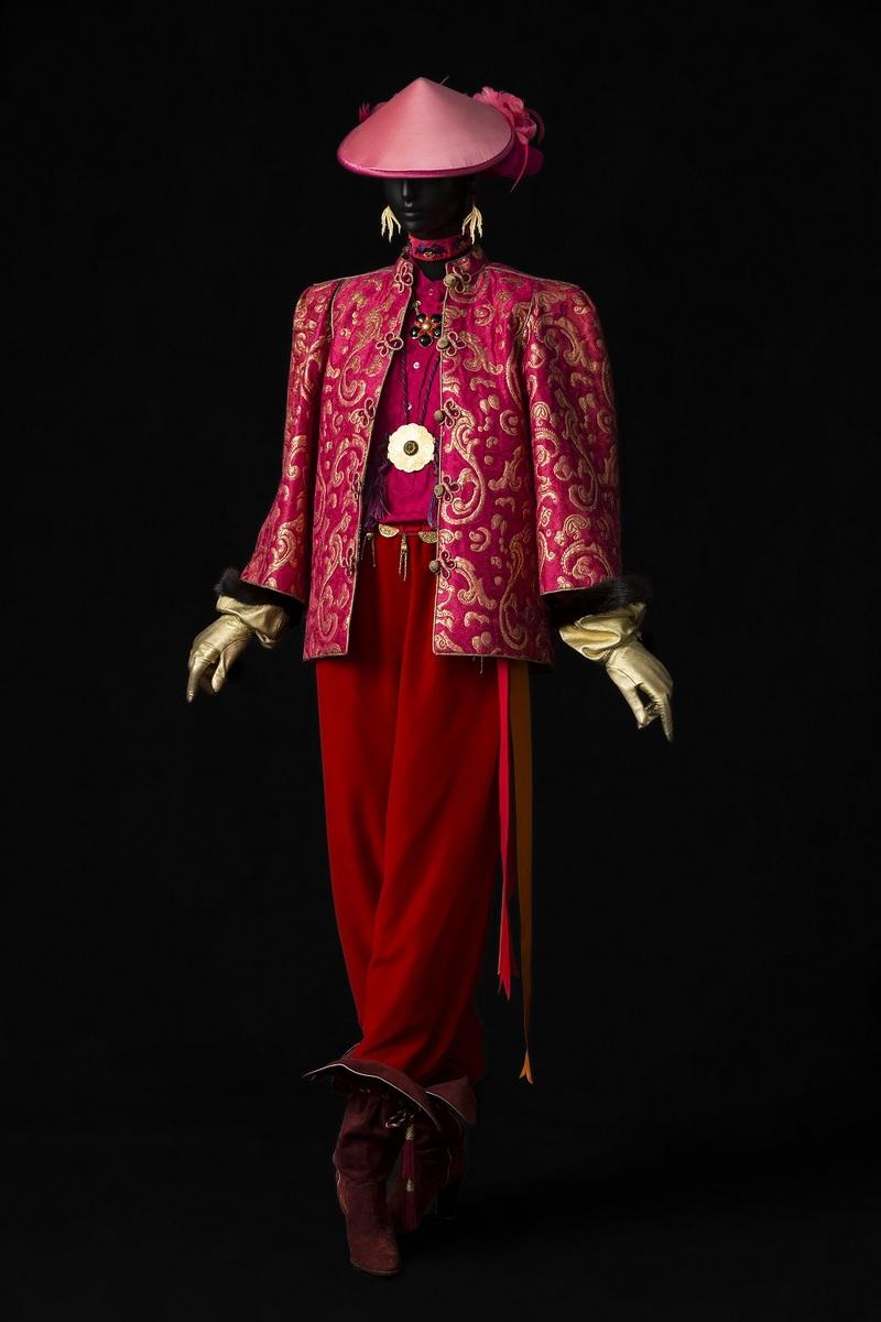 09 - Ensemble du soir, collection haute couture automne-hiver 1977