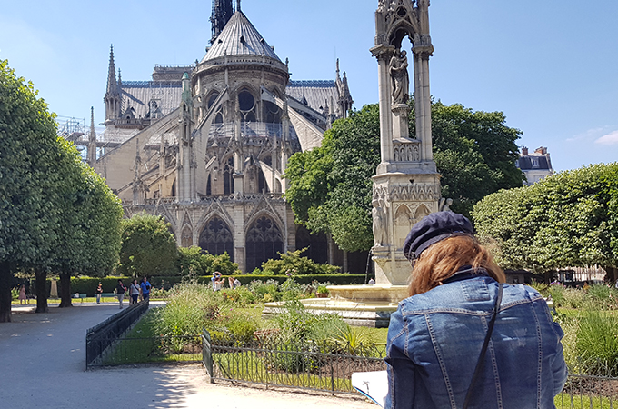 Summer School - Paris Sketchbook
