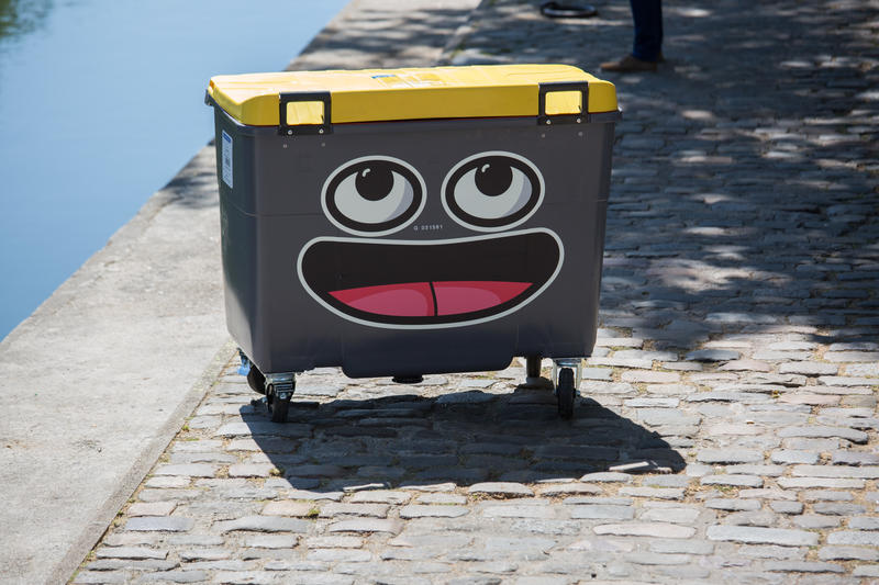 street art/poubelle