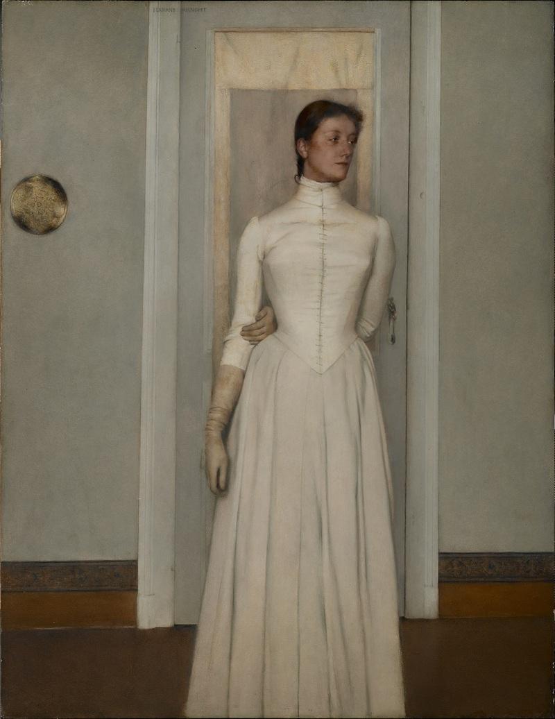 Portrait de Marguerite Khnopff,