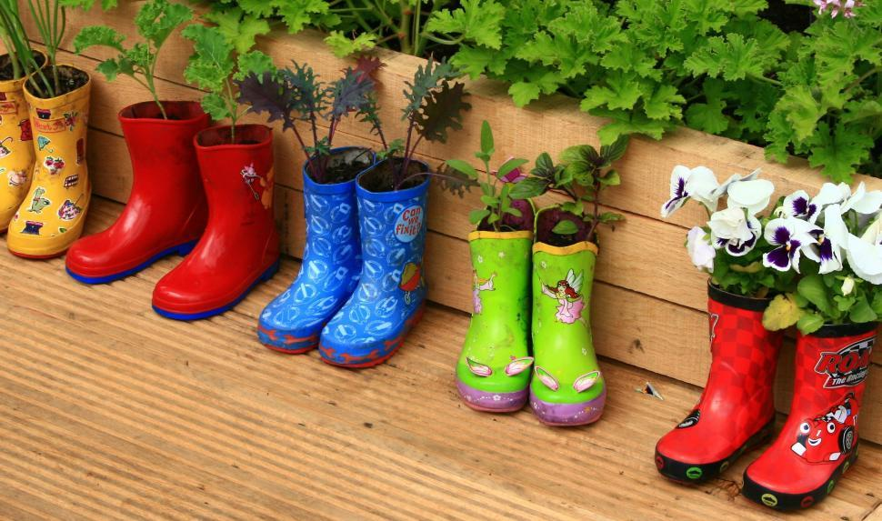 bottes de pluie enfant