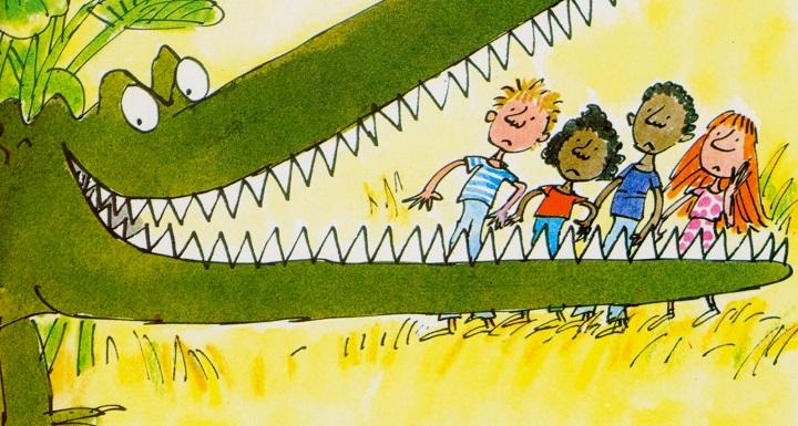 L'énorme crocodile de Roald Dahl illustré par Quentin Blake