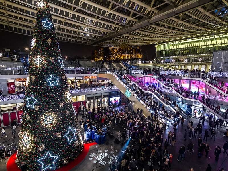 Noël féerique du forum des Halles