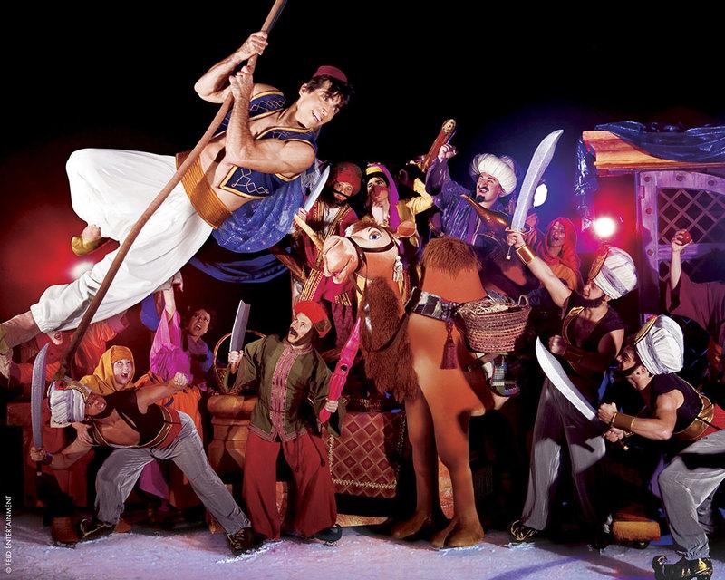 Disney sur Glace avec Aladin