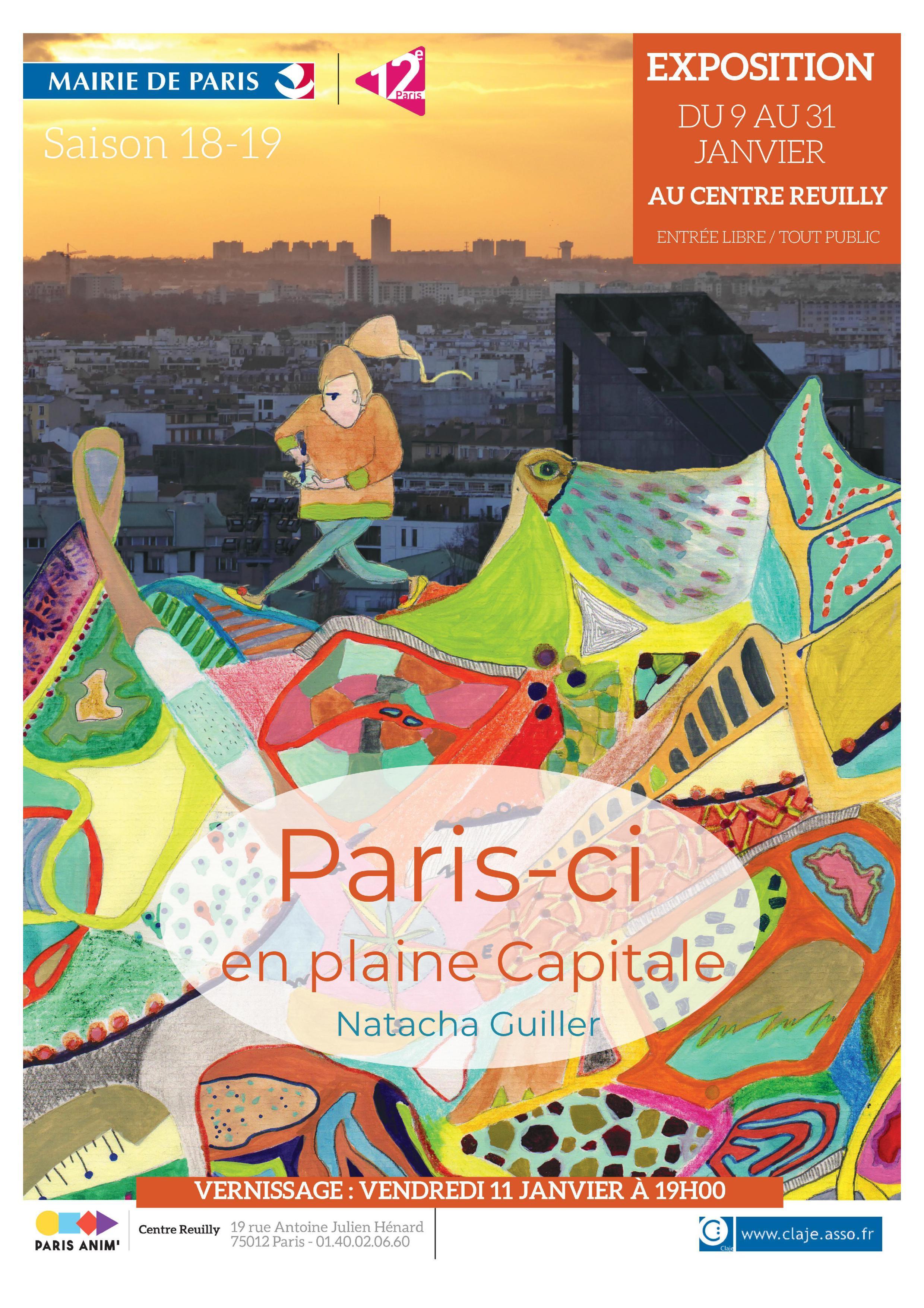 """"""" Paris-ci en pleine capitale"""" Exposition participative"""
