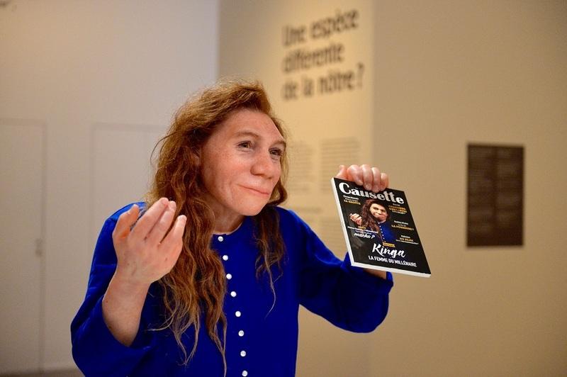Expo Néandertal - Kinga, par Elisabeth Daynès