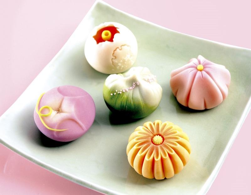 Wagashi, pâtisserie traditionnelle japonaise