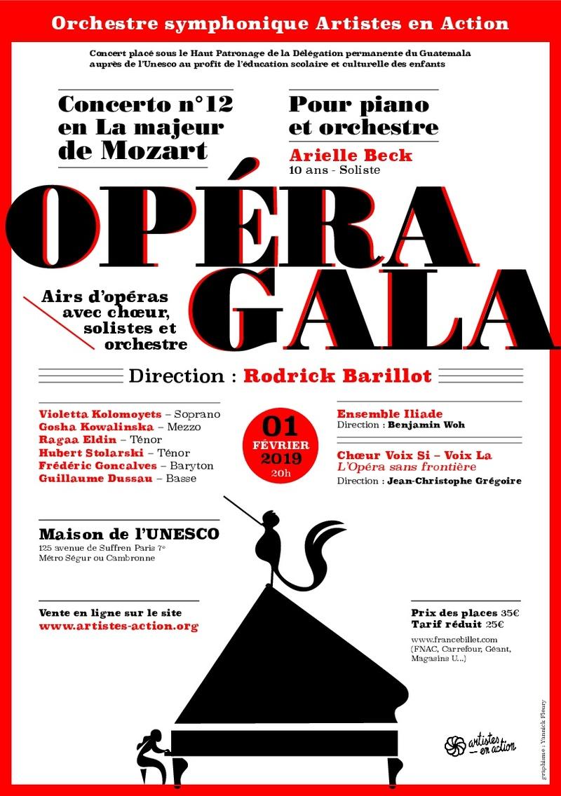 Concert d'opéras à l'Unesco