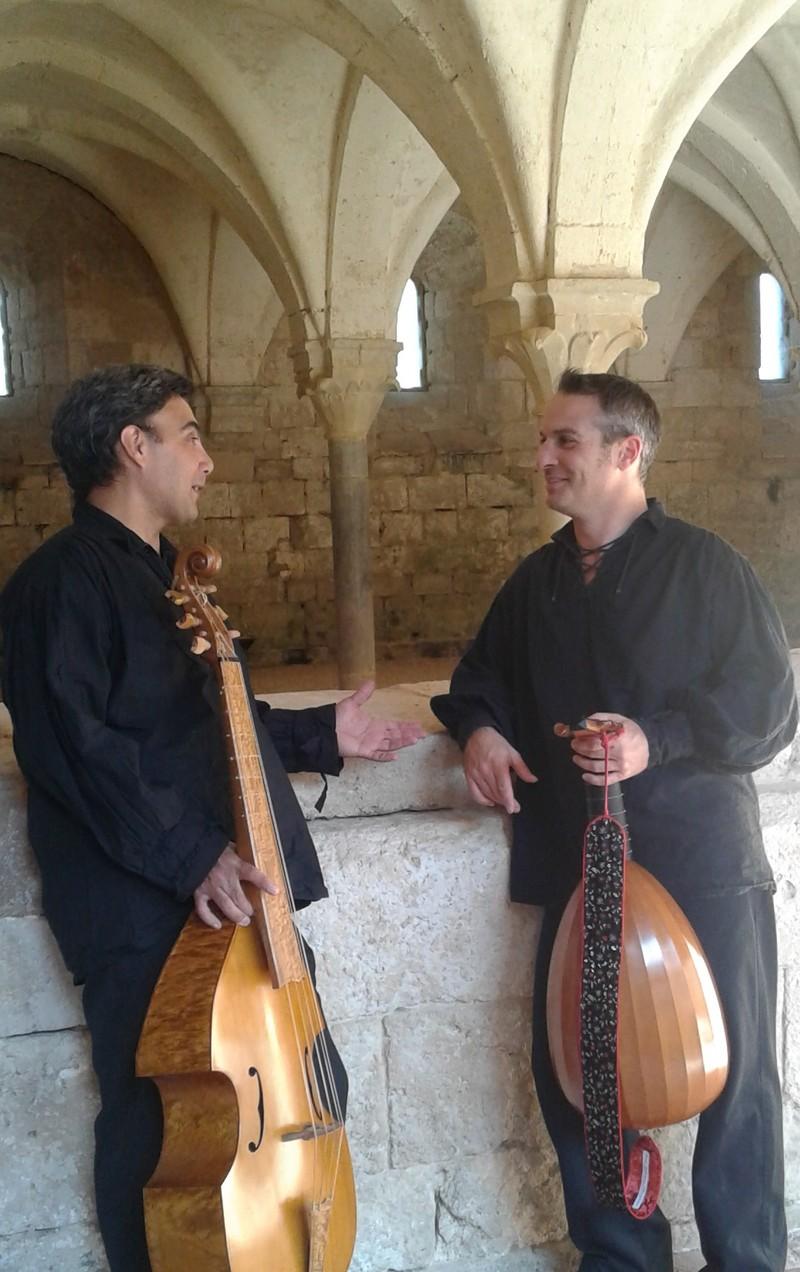 conférence-concert-présentation d'instruments Nomadisme musical de la Renaissance au Baroque