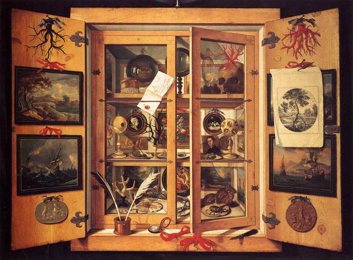 Le Cabinet De Curiosites Contemporain Detail