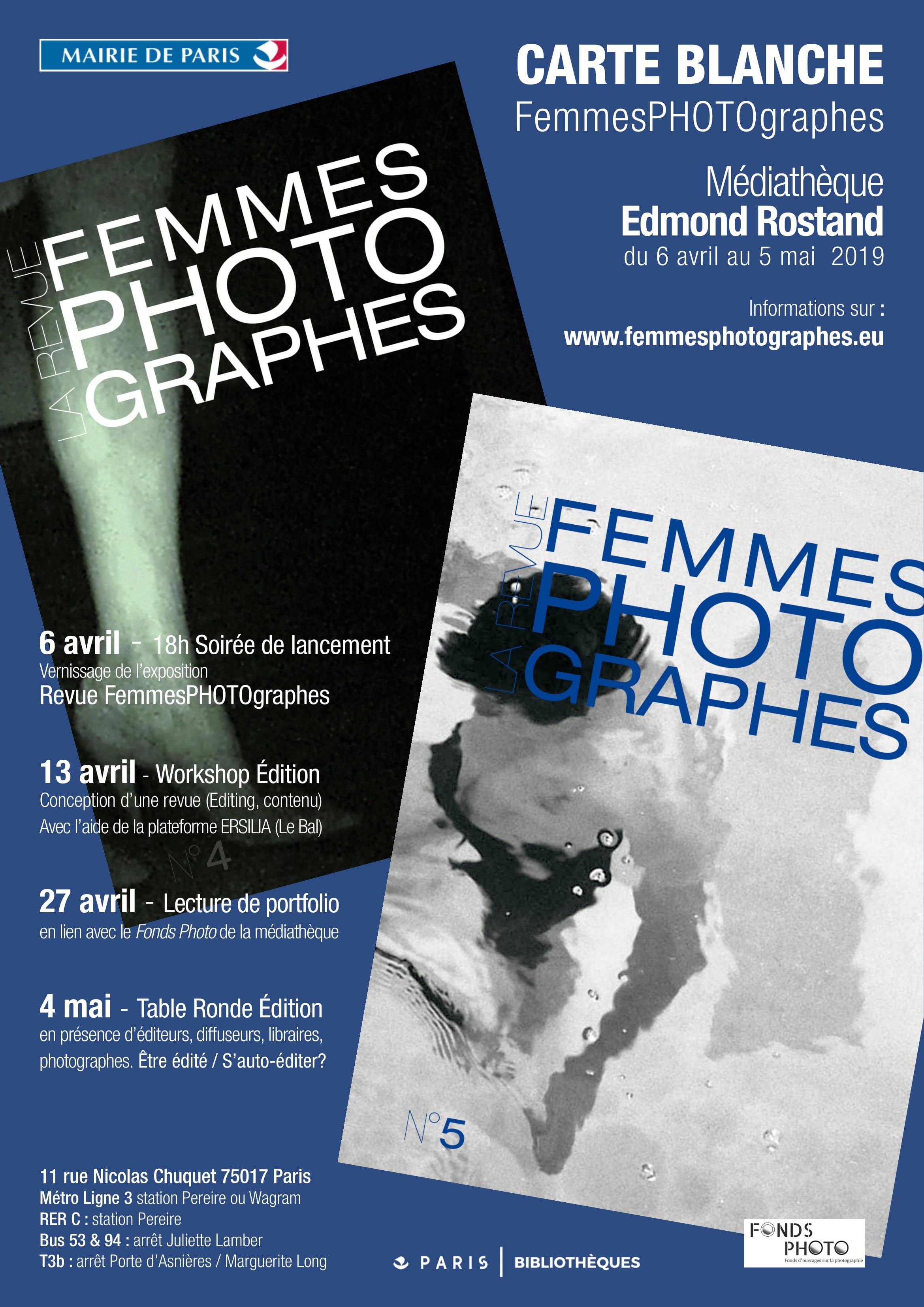 Workshop Femmes PHOTOgraphes |