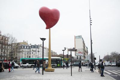 Coeur de Paris de Joana Vasconcelos