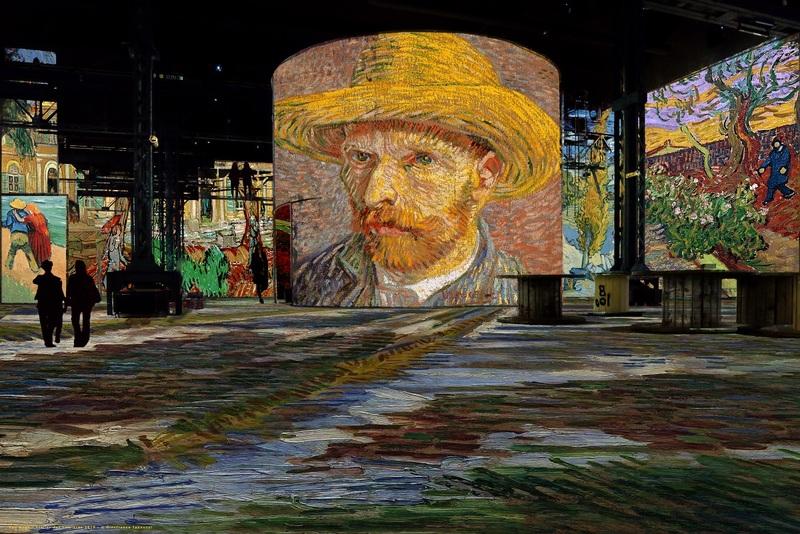 1_Simulation Van Gogh, La nuit étoilée