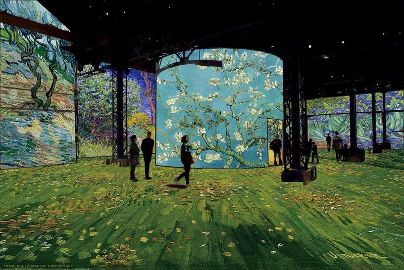 2_Simulation Van Gogh, La nuit étoilée