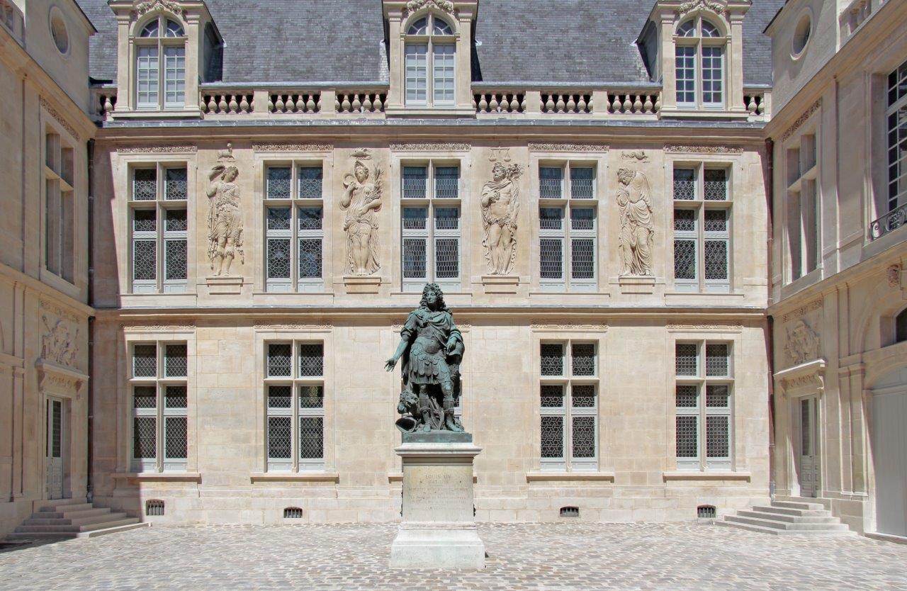 Cour d'honneur de l'hôtel Carnavalet