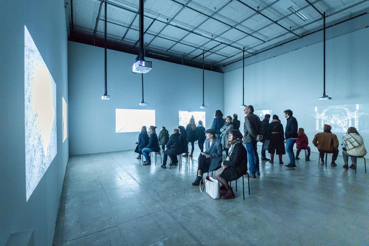Le CentreQuatre, exposition Pablo Valbuena