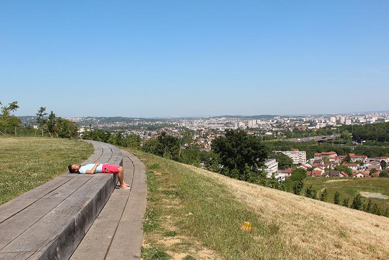 Vue depuis la butte des Chataîgniers à Argenteuil (95)