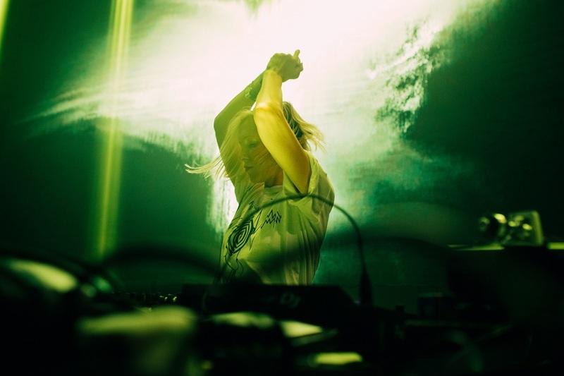 La DJ et musicienne Ellen Allien, Festival N.A.M.E., Roubaix, 2017