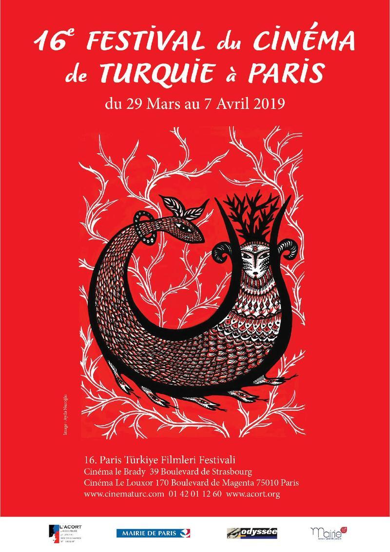 Affiche 16e Festival du Cinéma de Turquie à Paris