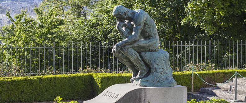 Le Penseur au musée Rodin de Meudon