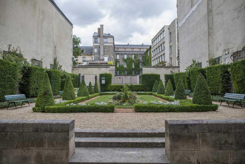 jardins du marais de l h tel particulier au jardin public