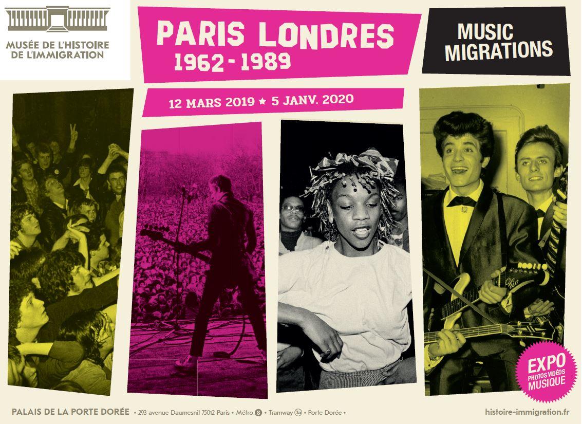 Paris Londres 1962-1989
