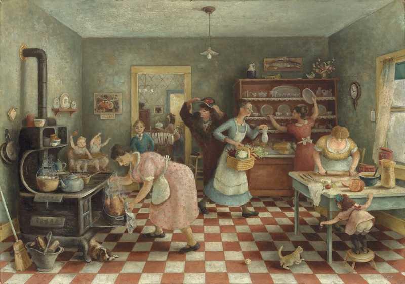 Doris Lee - Thanksgiving