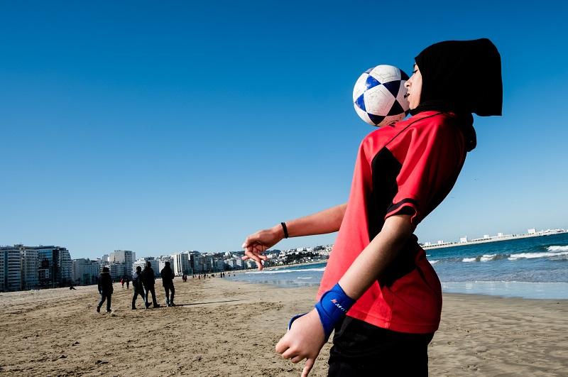 femme et foot