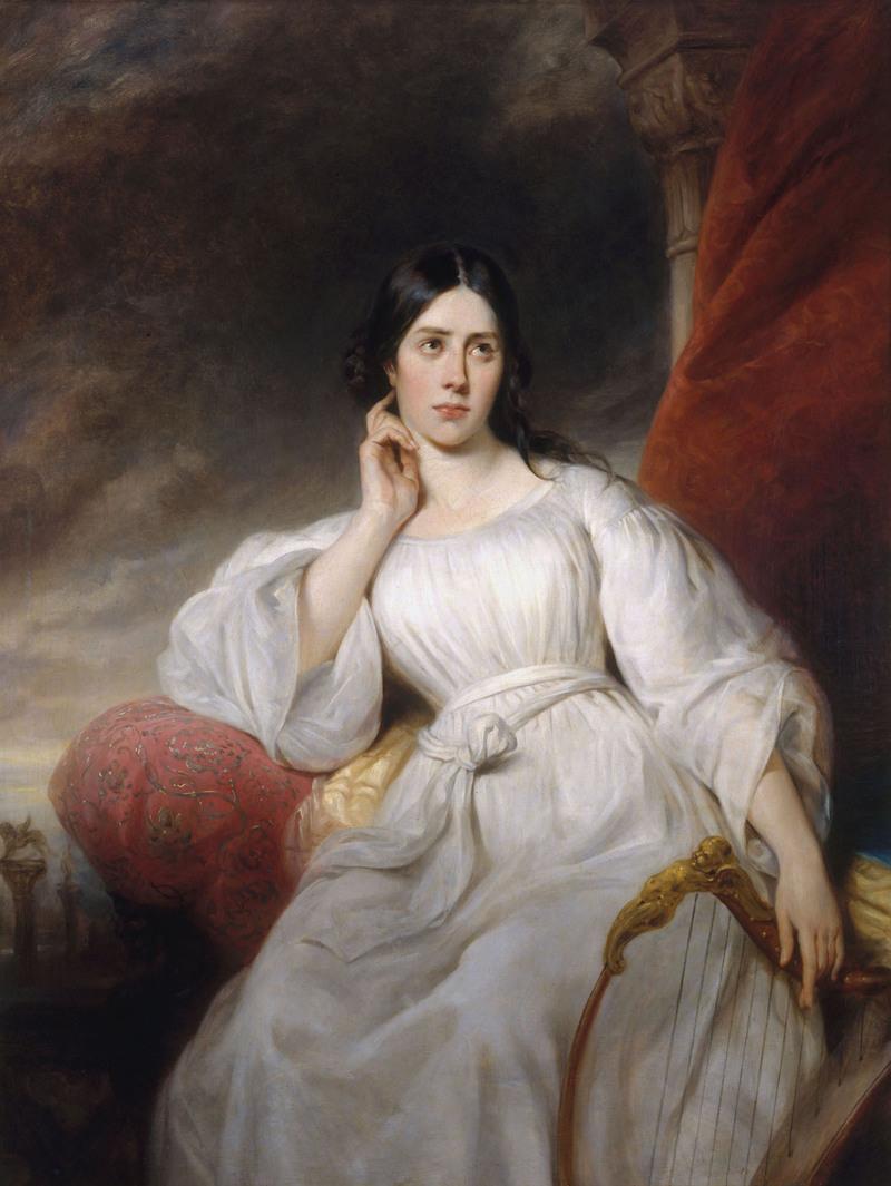 Henri Decaisne, Portrait de Maria Malibran-Garcia dans le rôle de Desdémone, 1830, huile sur toile, Paris, musée Carnavalet.