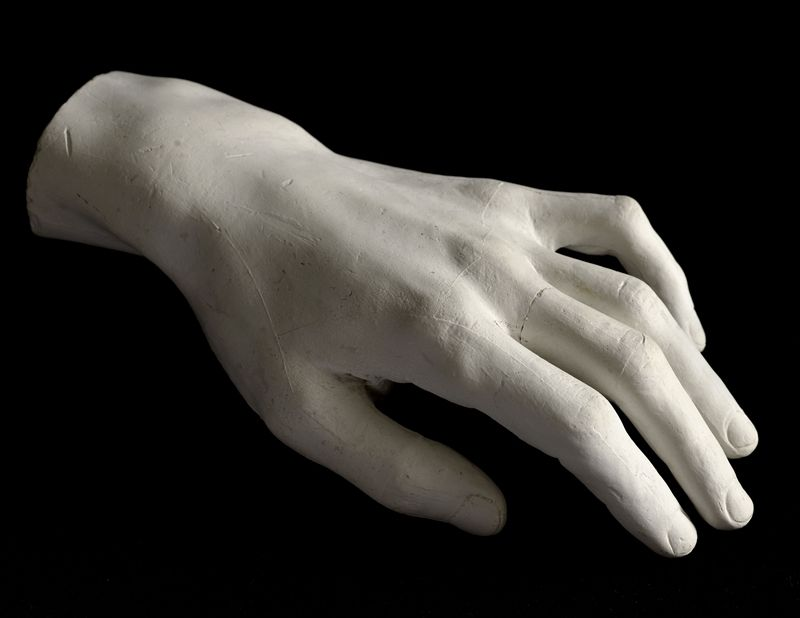 Moulage original de la main gauche de Chopin