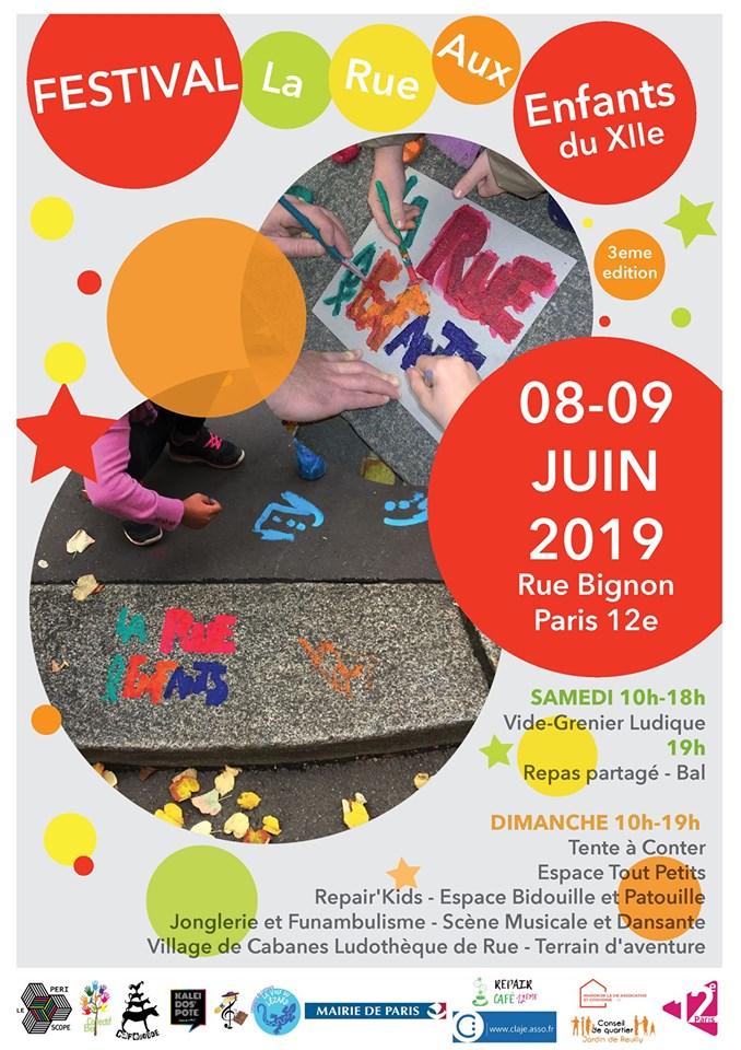 Festival La Rue Aux Enfants du XIIe