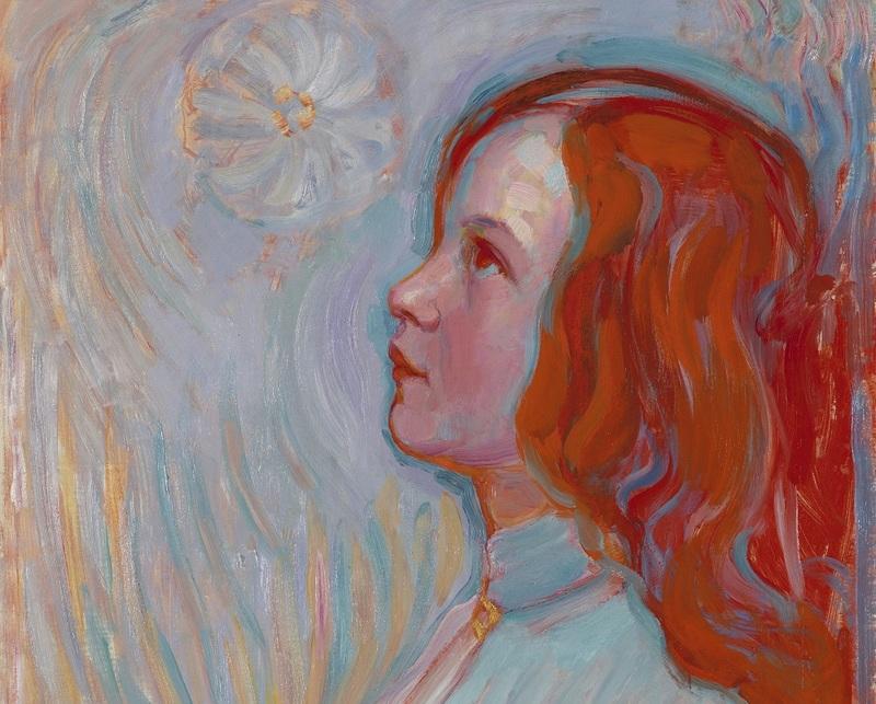 Piet MONDRIAN, Devotion, 1908, Huile sur toile, 94 x 61 cm