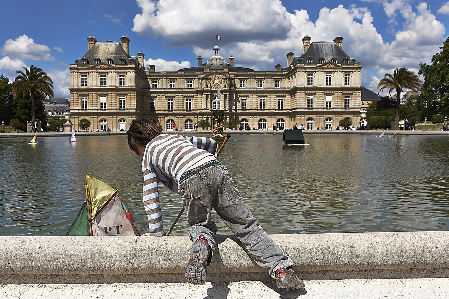 Enfant tuileries