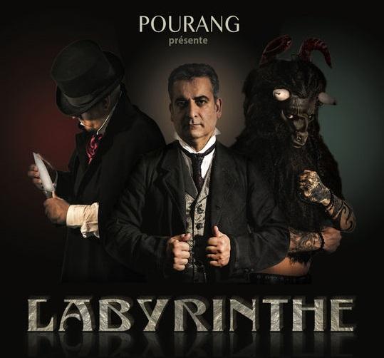 Labyrinthe de Pourang à la Comédie de Paris