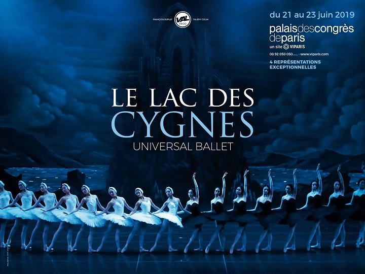 Le Lac des Cygnes au Palais des Congrès